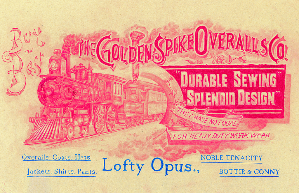 GOLDEN SPIKE OVERALLS Co.